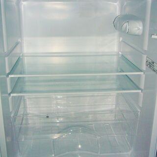 ☆ニトリ NITORI NTR-106 106L 2ドアノンフロン冷凍冷蔵庫 グラシア◆2019年製・使い勝手抜群 - 家電