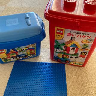 LEGO 赤いバケツ他