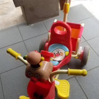 (取引中)アンパンマン3輪車