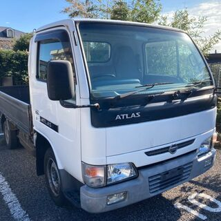 【25,520km】日産 H16年式 アトラストラック 5マニュアル