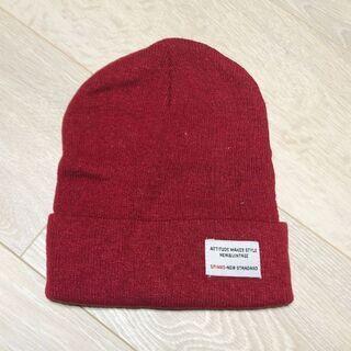 SPINNSニット帽子(スピンズニットキャップ)新品