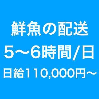 【急募】軽貨物ドライバー / 鮮魚の配送 / 高待遇 / …