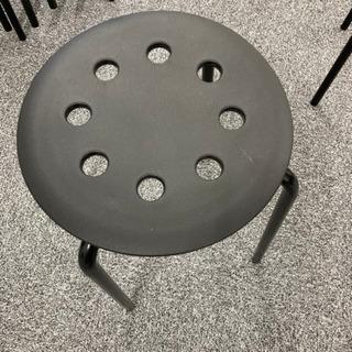 【ネット決済】IKEA スツール 丸椅子①傷