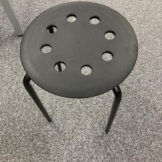 【ネット決済】IKEA スツール 丸椅子③