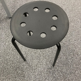 【ネット決済】IKEA スツール 丸椅子⑤