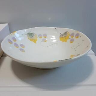 新品未使用 橘 たち吉 葡萄柄 中鉢 箱付 日本製 食器 食器 和皿