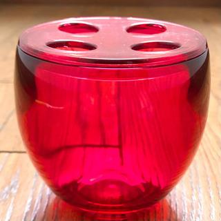 【値下】umbra アンブラ 歯ブラシホルダー   RED wi...