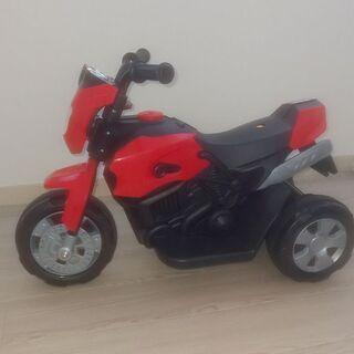 電動バイク(幼児用)体重25キロまで