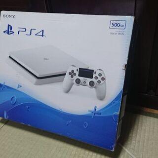 PS4 スリム ホワイト