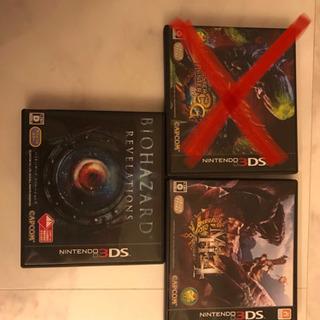 3DSソフト残り2枚