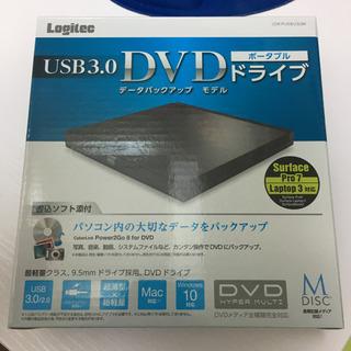 美品 DVDドライブ