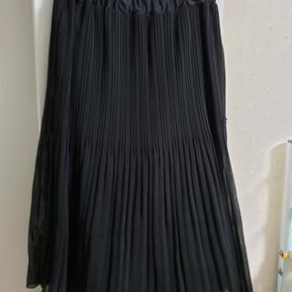 黒のプリーツスカートSサイズ