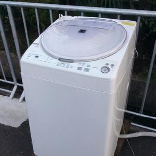 🌈必見🤩‼️見るのは無料🥳❤️SHARP🥳洗濯乾燥機☀️7キロ⭕...
