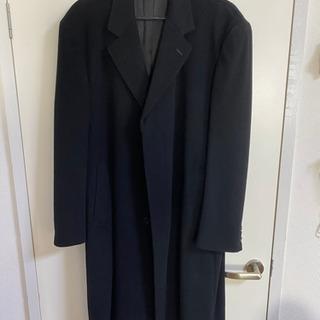 カシミヤ コート ブラック