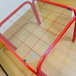 ガラスローテーブル 強化ガラス 値下げしました! 値段交渉あり