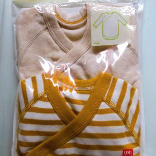 【新品未使用】ベビー服60サイズ UNIQLOクルーネックボディの画像