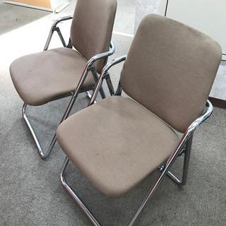 無料 コクヨ パイプ椅子 折り畳み可能 オフィス