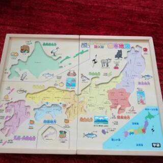 学研 日本地図パズル