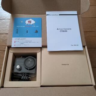 新品未使用 4Kアクションカメラ 定価5980円 CT8500