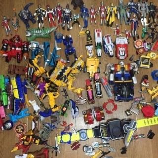 【ネット決済】ヒーロー、戦隊ものおもちゃをまとめて
