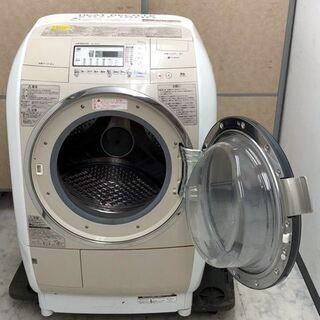 ㉕【6ヶ月保証付】日立 9kg/6kg ドラム式洗濯乾燥機 BD-V5400R 右開き【PayPay使えます】 - 福岡市