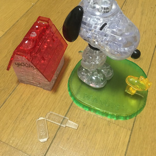 3Dパズル クリスタルギャラリー スヌーピー