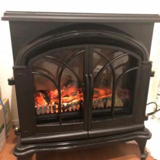 ワイド 暖炉型 ファンヒーター ニトリ大