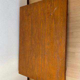 木彫りテーブル