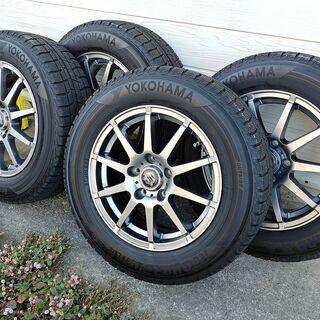 スタッドレスタイヤ 205 65R 15 +45