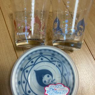 ぴちょんくん グラス 小鉢セット