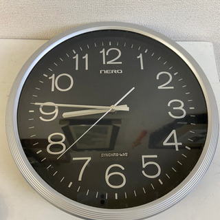 中古 掛け時計 丸型