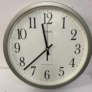 中古 掛け時計 丸型シンプルタイプ