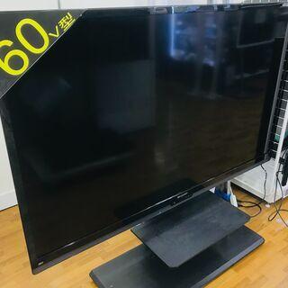 液晶テレビ スタンド付き 60インチ SHARP 2013年製 ...