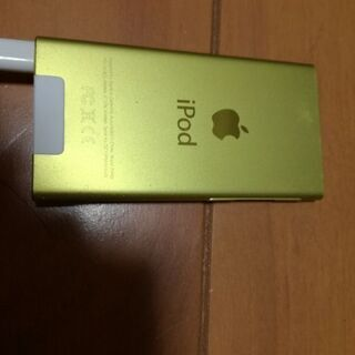 ipod nano 第7世代16GBイエロー 美品特価!