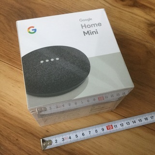 1500円‼️値下げ❗️【新品未開封】Google home mini ✨ - 那覇市