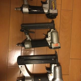 エアーネイラー 3個 釘打機の画像