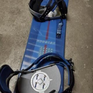 【明日引取限定】スノーボード ROOSTAR 155cm x 30cm - スポーツ