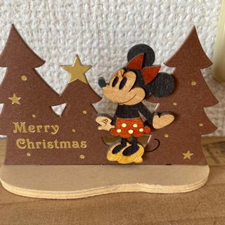 ミニーのクリスマスの飾り