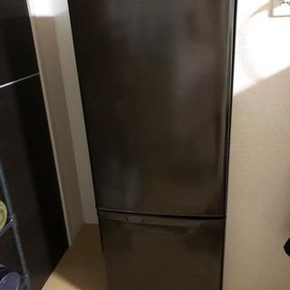 パナソニック 冷蔵庫 168L   ブラウン