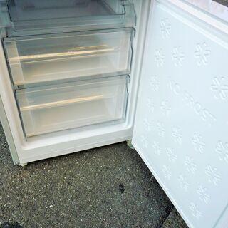 ☆ノジマ NOJIMA エルソニック ELSONIC EH-R1482F 148L 2ドアノンフロン冷凍冷蔵庫◆2018年製・スタイリッシュさと大人のシックさを演出 - 横浜市