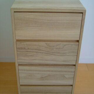 木製チェスト4段
