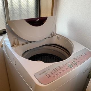 【お譲り先決まりました】シャープ 全自動電気洗濯機