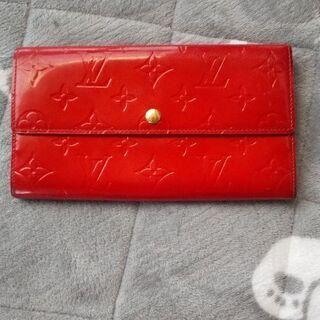 ルイヴィトン   赤財布