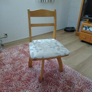 回転式食卓椅子3脚 バラ売り可能