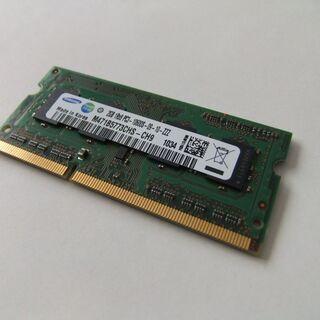 ノートパソコン用 メモリー SAMSUNG PC3-106…