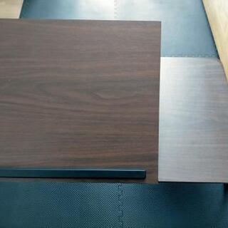【美品】折りたたみローテーブル(角度調整付き)