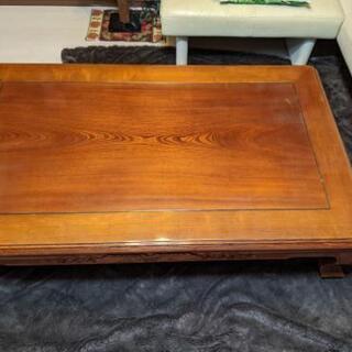 欅(けやき)座卓テーブル