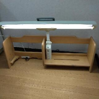 【取引終了】学習机、机上の棚