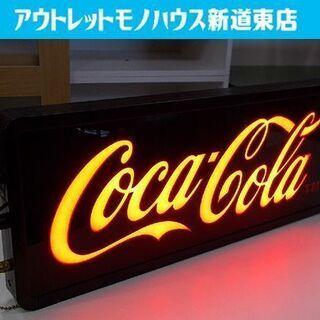 コカコーラ ネオンサイン 幅51cm 電飾看板 ブラック 黒 ア...