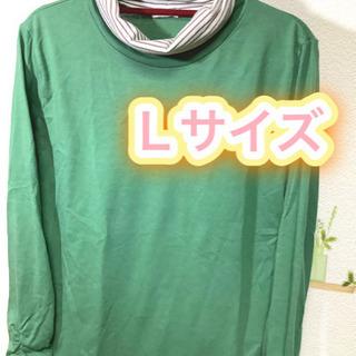 【ネット決済・配送可】レディース ロンティー Lサイズ